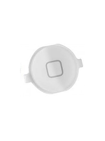 Bouton home pour iPhone 4/4s, Blanc