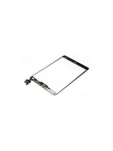 iPad mini 1/2 touch panel with IC - Black including home button flex assembly