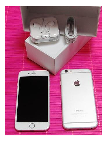 "iPhone 6 "" 64 Go Silver / occasion (7001)"