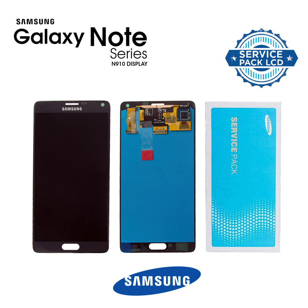 N910 NOTE4 LCD Black (GH97-16565B) (sku 730)