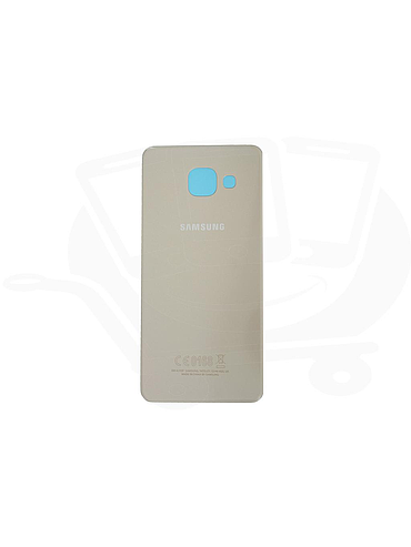 SAMSUNG GALAXY A3 (2016) BATTERY COVER - GOLD (sku 116)
