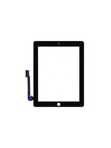 Touch iPad 4/3, black with button (sku 0056)