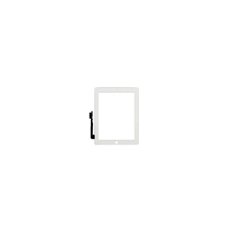 Touch iPad 4/3, white whit out button (sku 0053)