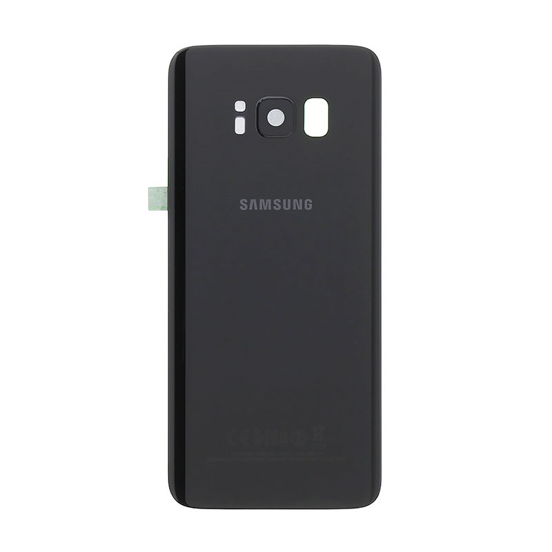 Back Cover Samsung S8  Black (sku 4081)